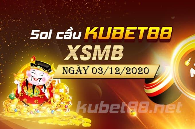 Soi cầu XSMB ngày 03/12/2020