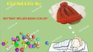 Theo chuyên gia giải mã thì giấc mơ thấy mũ len cho thấy bạn là người khá nhạy cảm